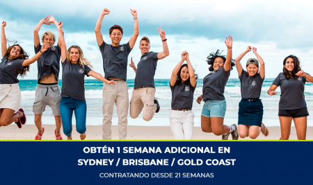 Obtén 1 semana adicional en Sydney / Brisbane / Gold Coast