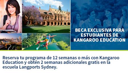 Beca exclusiva para estudiantes de Kangaroo Education