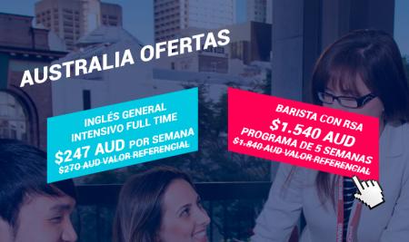 Promoción Australia – Barista con RSA