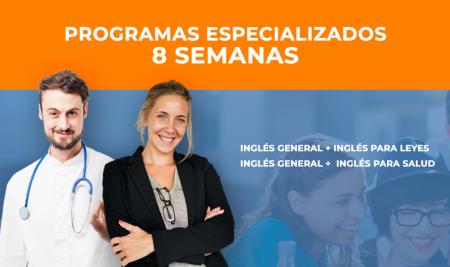 Especial Inglés General + Inglés para Leyes / Inglés para Medicina