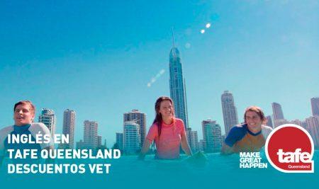 Inglés en TAFE Queensland + Descuentos VET (Curso Técnico)
